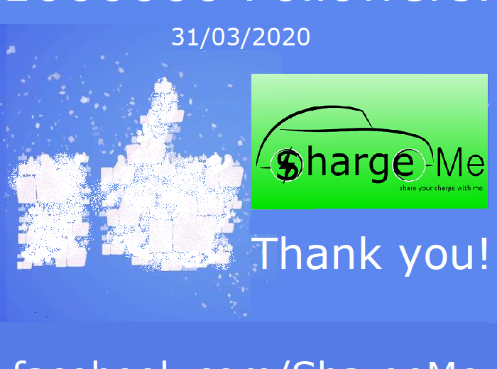 More than 1000000+ People already interested about our Startup ShargeMe