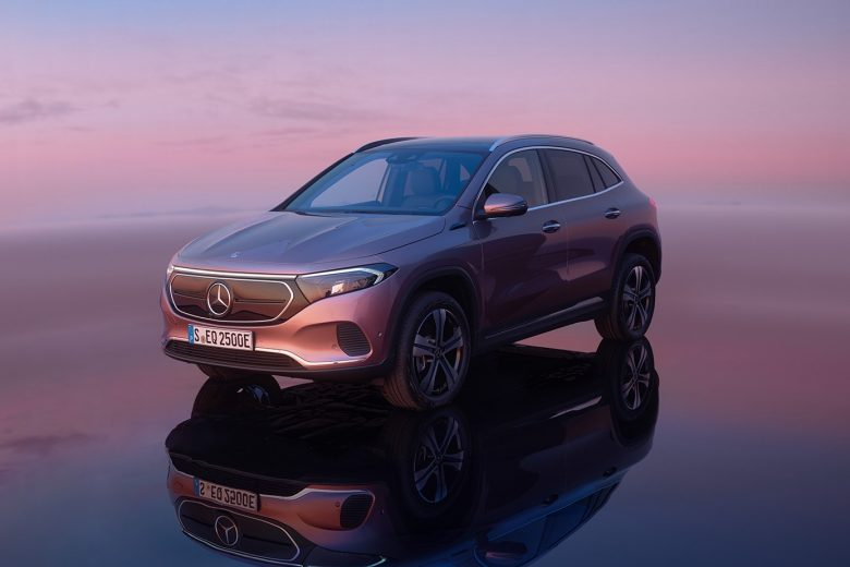Mercedes-Benz EQA, the electric equivalent of GLA class
