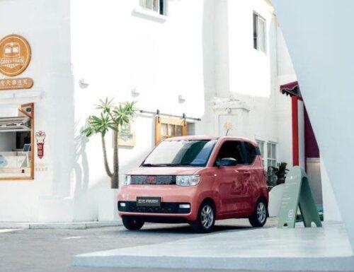 Meet the Wuling HongGuan Mini EV, a sub $5,000 EV that is popular in China