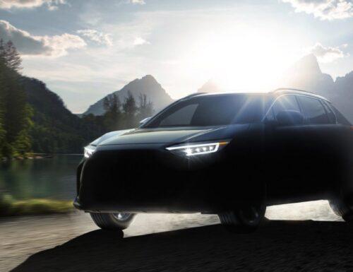 Subaru teases its new electric car, the Solterra EV