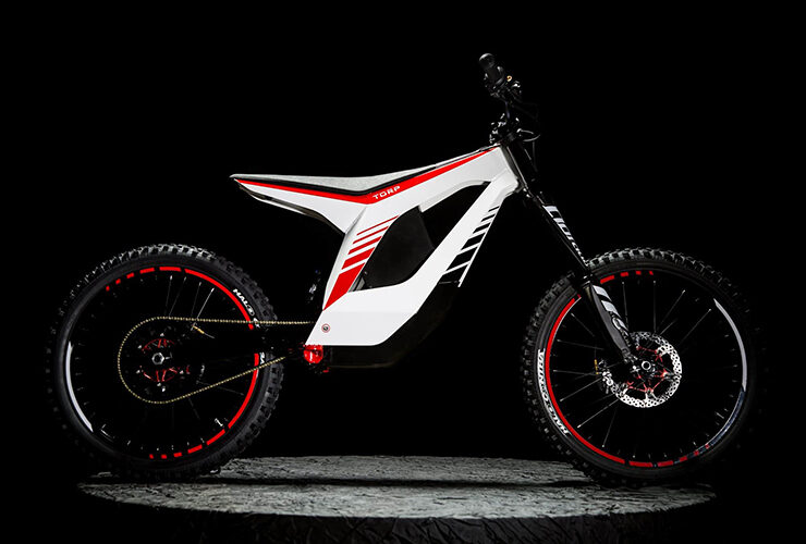 Meet the TORP Bike, one of the lightest electric dirt racing bikes