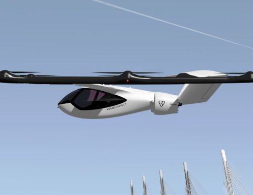 Volocopter reveals its VoloConnect, a four-seater electric UAM aircraft