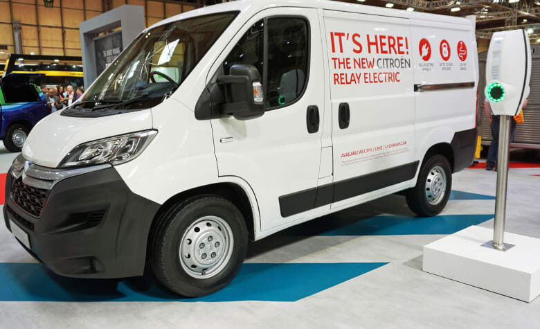 Citroën opens booking for its e-Relay electric van in the UK