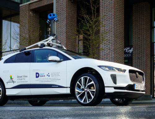 Google to use Jaguar's I-PACE EVs to build emissions map for Dublin