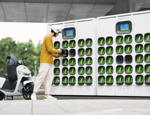 Gogoro launches battery swap service in China