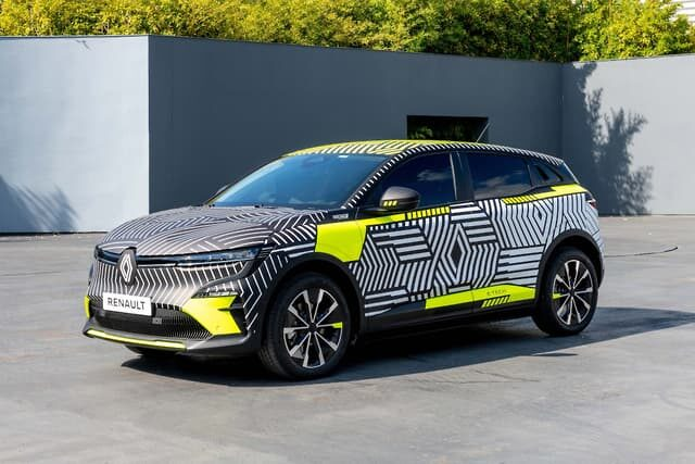 Renault teases its new Megane E-Tech Electric SUV