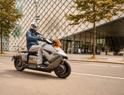 BWM's futuristic electric scooter is becoming an actual product
