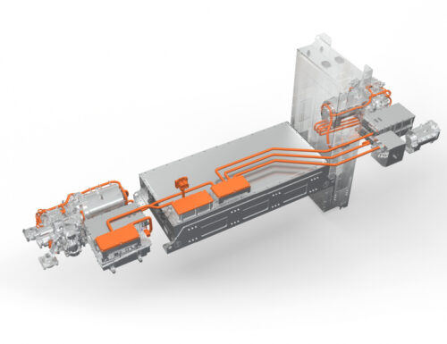 Volvo Penta is starting production of e-driveline for electric fire trucks