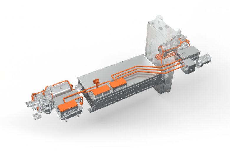 Volvo Penta sta avviando la produzione di e-driveline per camion dei pompieri elettrici
