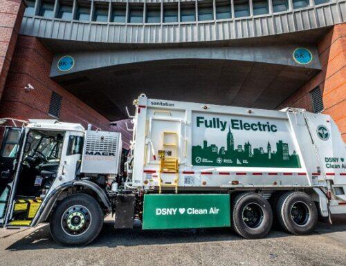 New York City acquisterà altri camion della spazzatura elettrici da Mack